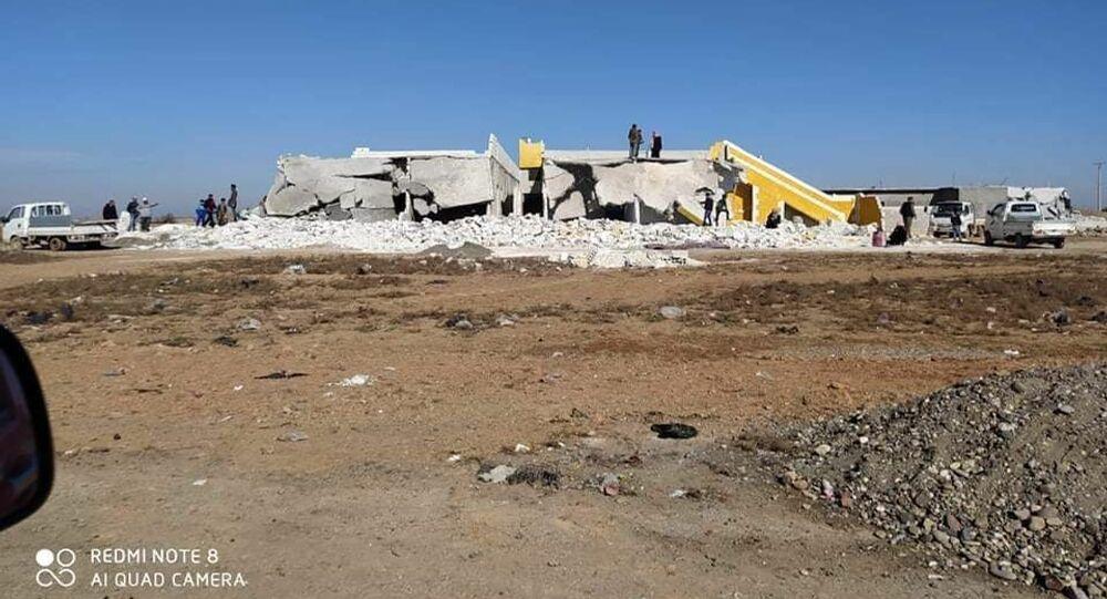 موجة ثانية من التدمير المدعم بالجريمة والمخدرات في الرقة، سوريا