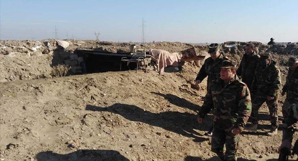 الجيش السوري يحيد مجموعة إرهابية هاجمت حافلات ركاب على طريق ديرالزور