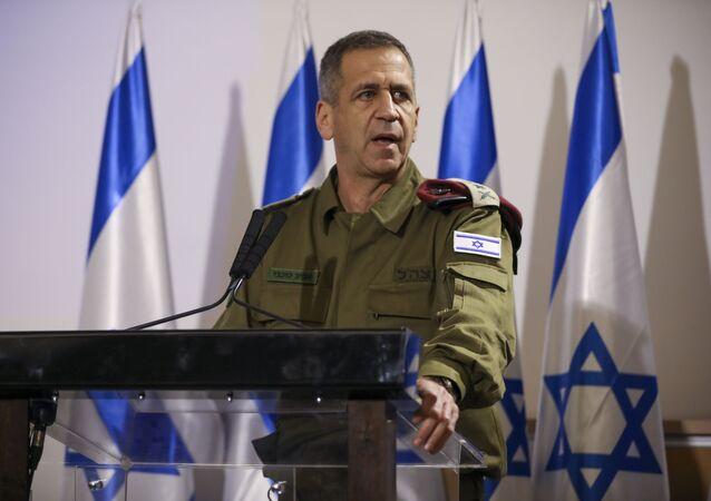 رئيس هيئة أركان الجيش الإسرائيلي أفيف كوخافي