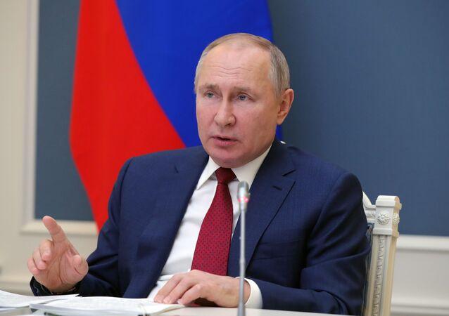 بوتين في كلمته أمام منتدى دافوس الاقتصادي العالمي