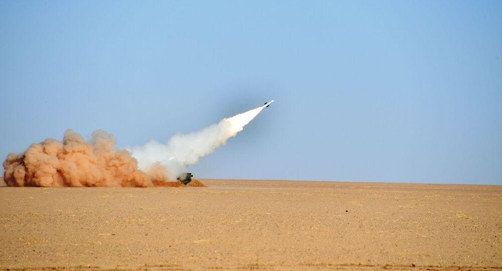 مناورات الجيش الجزائري