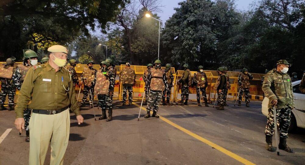انفجار قرب السفارة الإسرائيلية ي نيودلهي، الهند 29 يناير 2021
