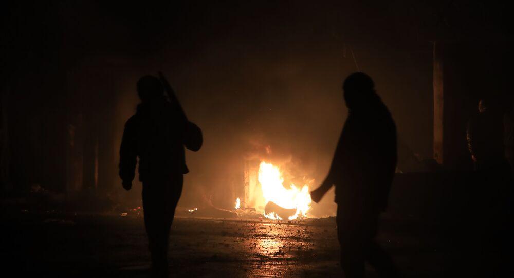 مواجهات طرابلس شمالي لبنان، 29 يناير 2021