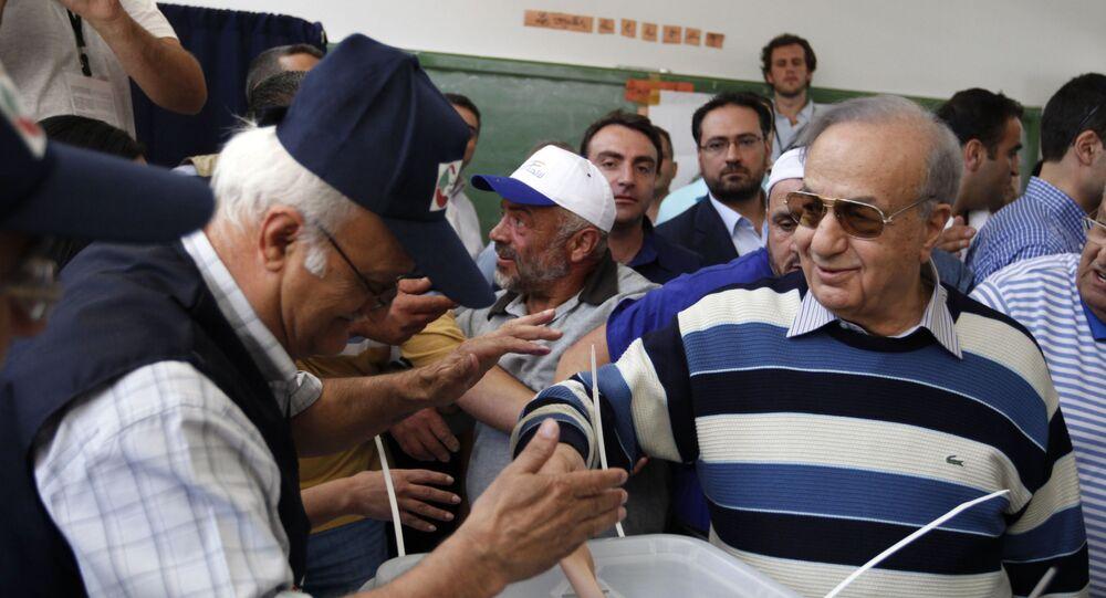 النائب اللبناني الراحل ميشال المر