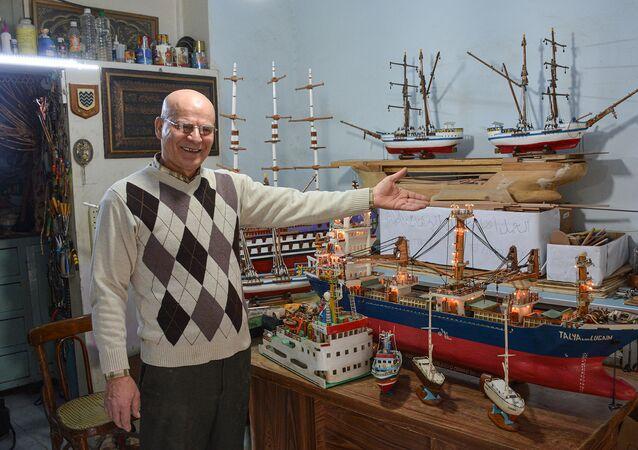 المهندس البحري رشيد دالاتي، اللاذقية، سوريا 1 فبراير 2021