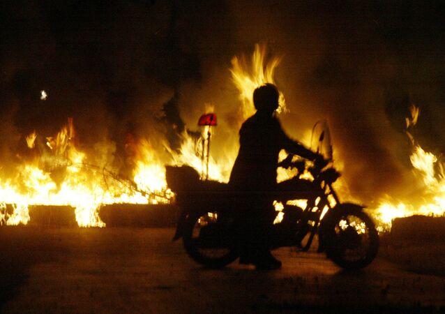 حريق - القاهرة