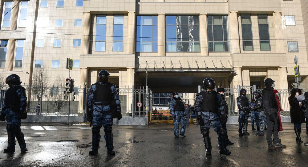 محكمة سيمونوفسكي بالعاصمة موسكو