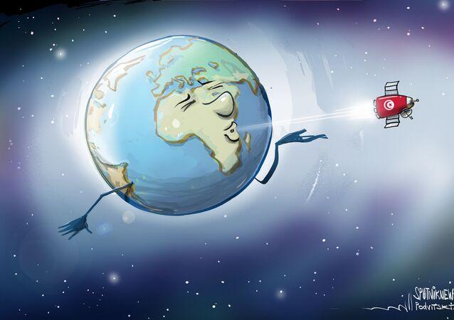 تونس ستطلق أول قمر صناعي إلى الفضاء