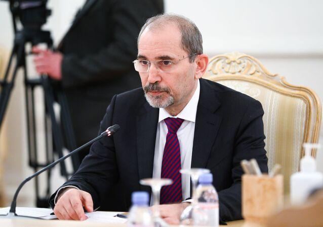 وزير الخارجية الأردني، أيمن الصفدي في موسكو، روسيا 3 فبراير 2021