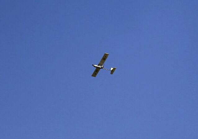 طائرة مسيرة تابعة لحركة حماس، غزة، قطاع غزة، فلسطين ديسمبر 2020