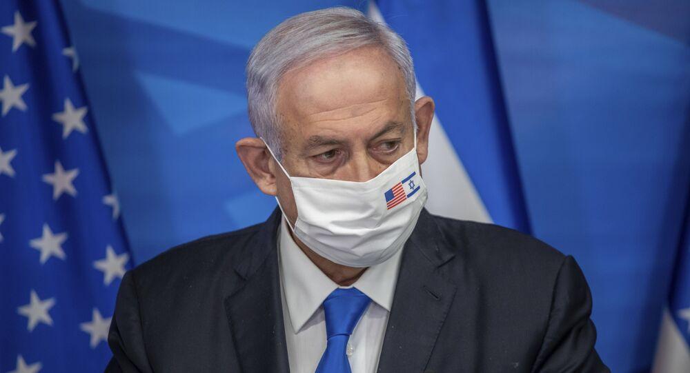 رئيس الوزراء الإسرائيلي بنيامين نتنياهو، القدس، إسرائيل 7 يناير 2021