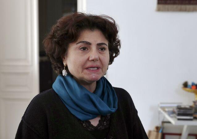 رشا سليم شقيقة الناشط اللبناني لقمان سليم المغتال في لبنان