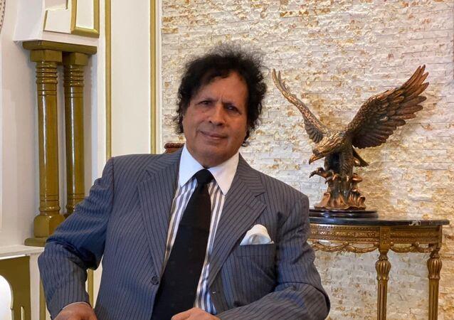 المسؤول السياسي بجبهة النضال الوطني الليبية أحمد قذاف الدم