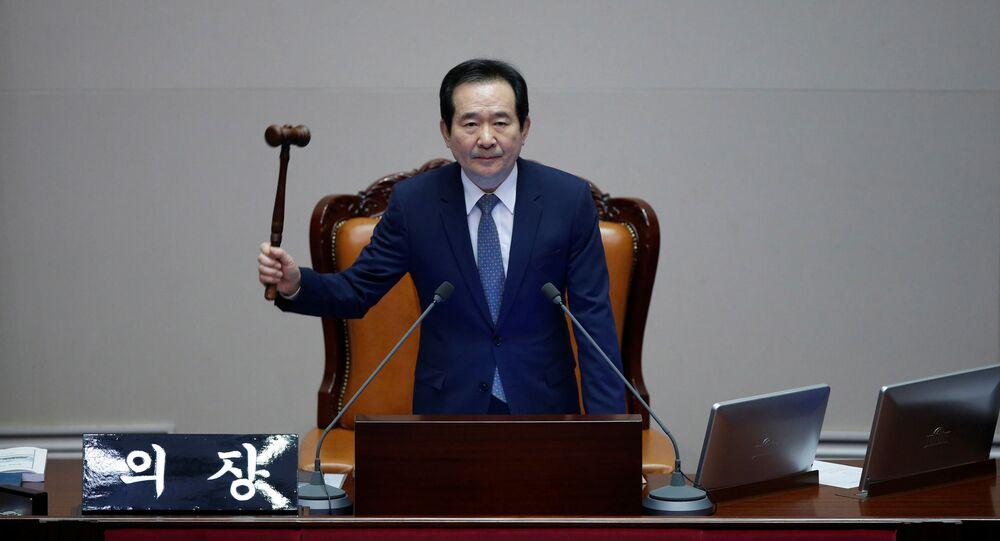 رئيس وزراء كوريا الجنوبية، جونغ سيه غيون
