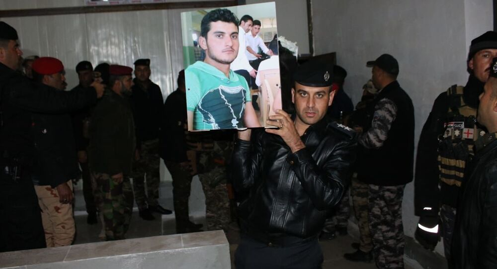 رفات الإيزيديين ضحايا الإبادة يصلون مثواهم الأخير شمالي العراق