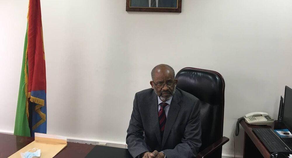 السفير الإريتري لدى روسيا، بيتروس تسيغاي