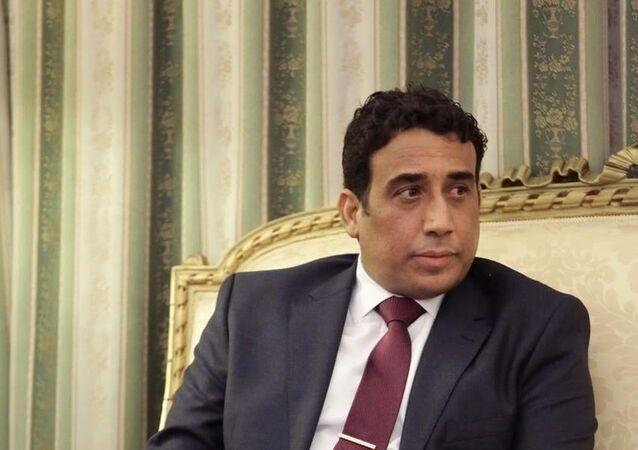 رئيس المجلس الرئاسي الليبي الجديد محمد المنفي