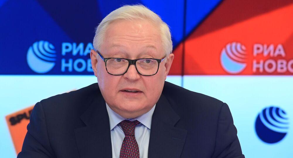 نائب وزير الخارجية الروسي سيرغي ريابكوف، موسكو، روسيا نوفمبر 2020
