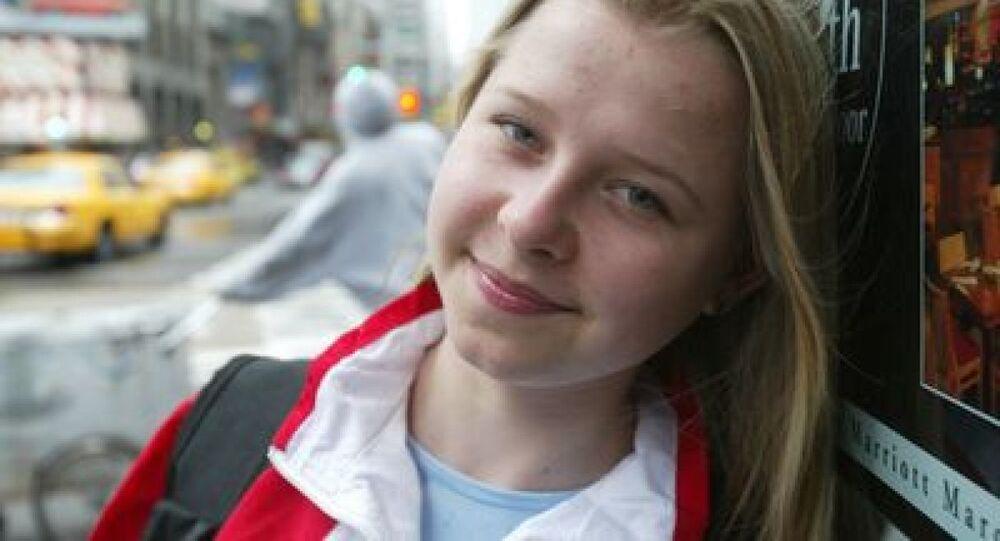ناتاليا ديومكينا في عمر 17 سنة