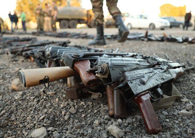 الجيش السوري ينتشر في مدينة طفس بريف درعا، سوريا 11 فبراير 2021