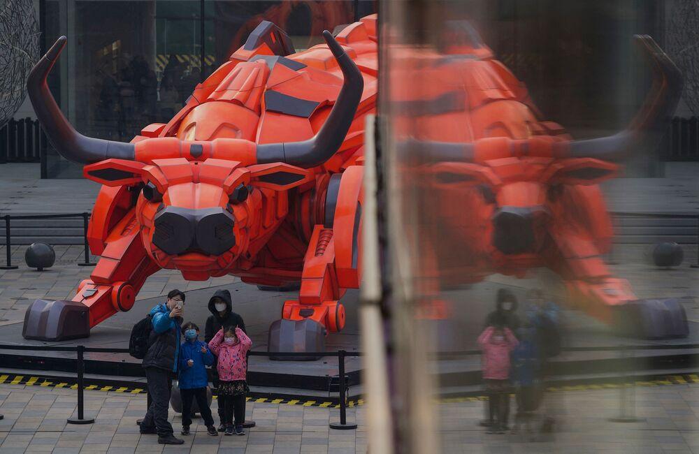 احتفالات حول العالم برأس السنة الصينية (القمرية) الجديدة - بكين، الصين 11 فبراير 2021