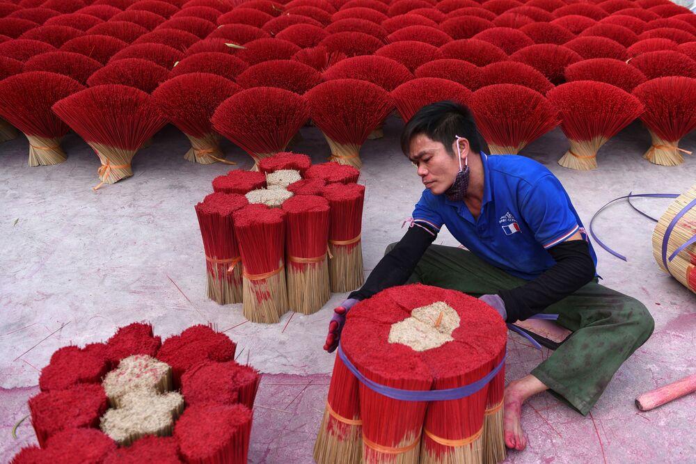 احتفالات حول العالم برأس السنة الصينية (القمرية) الجديدة - هانوي، فيتنام 3 فبراير 2021