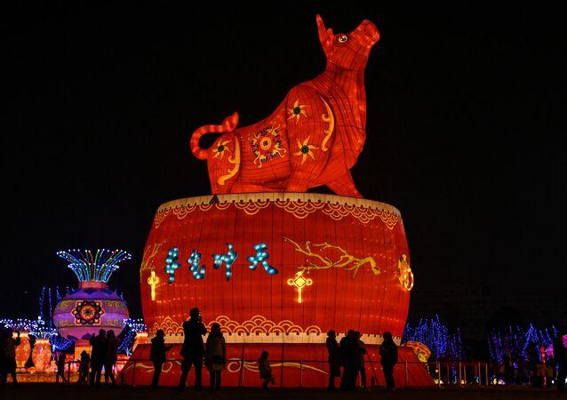 احتفالات حول العالم برأس السنة الصينية (القمرية) الجديدة - وهان، الصين 11 فبراير 2021