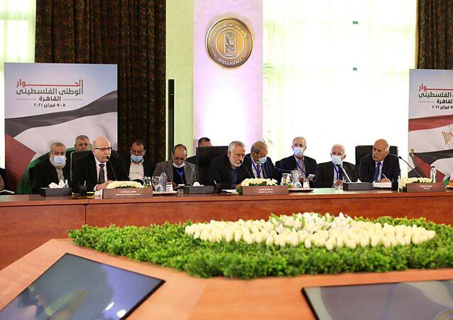 الحوار الوطني الفلسطيني في القاهرة، مصر 8-9 فبراير 2021
