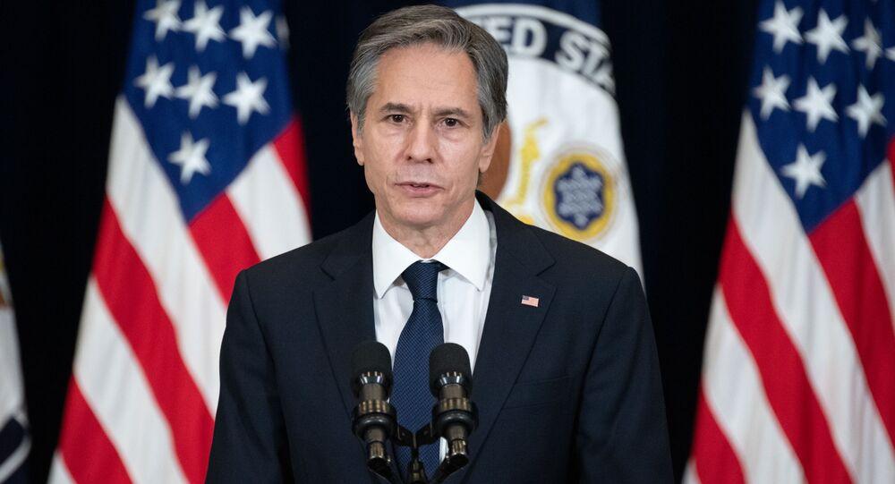 وزير الخارجية الأمريكي أنتوني بلينكن