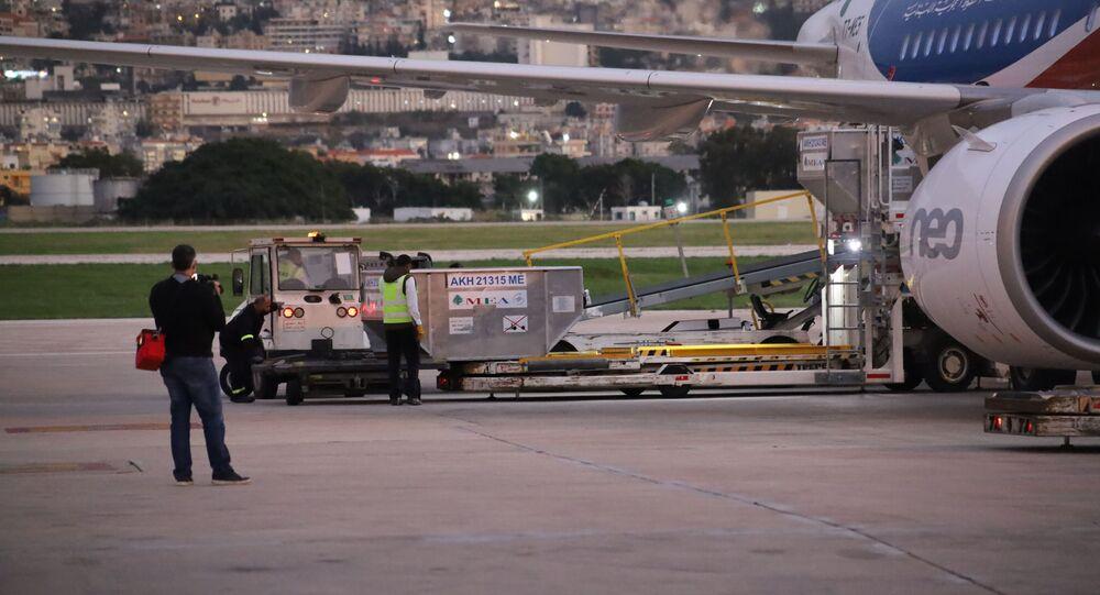وصول لقاحات كورونا إلى لبنان اليوم السبت 13 فبراير/ شباط 2021