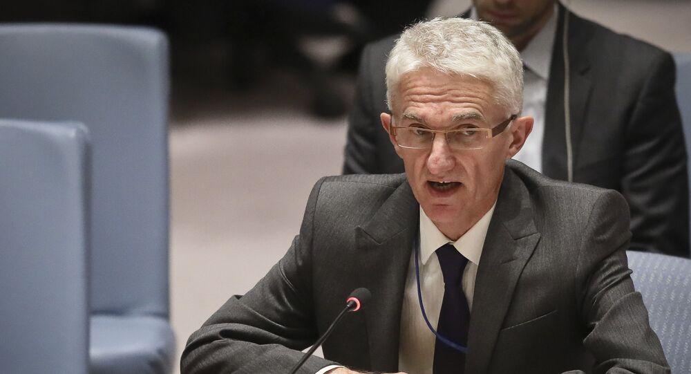 وكيل الأمين العام للأمم المتحدة للشؤون الإنسانية ومنسق الإغاثة في حالات الطوارئ مارك لوكوك