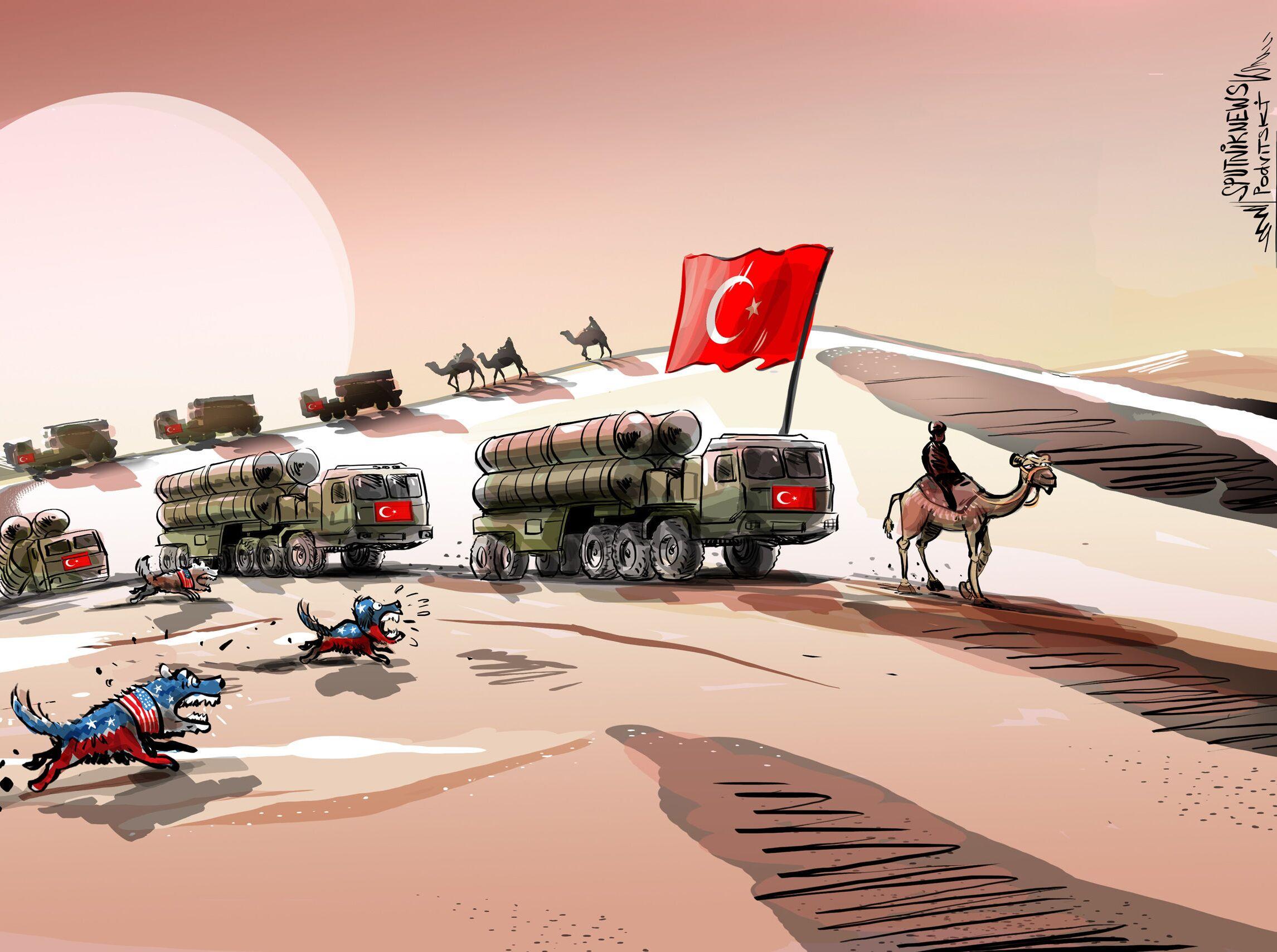 خبير: الولايات المتحدة لن تتستطيع إقناع تركيا بالتخلي عن إس 400