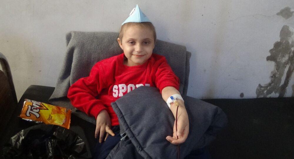 السرطان وقيصر الأمريكي يتحالفان ضد أطفال الحسكة شرقي سوريا