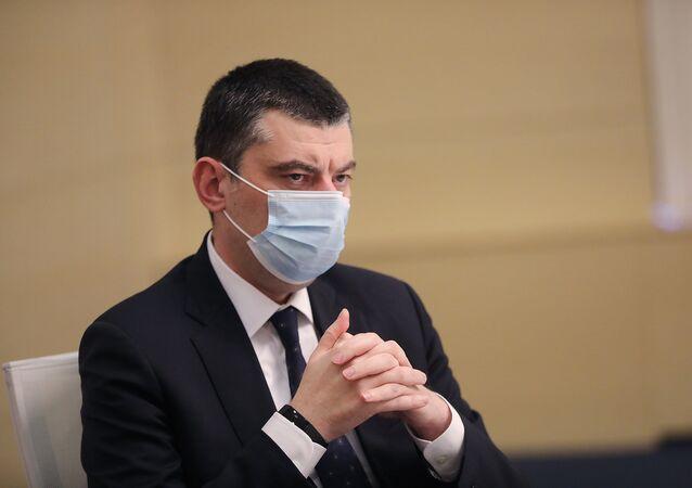 رئيس وزرا جورجيا غيورغي غاخاريا