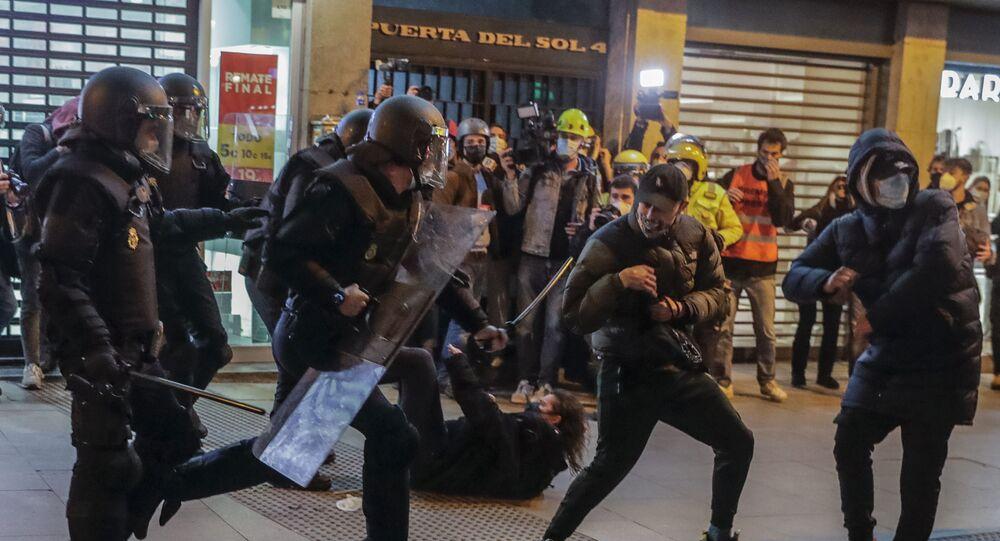 احتجاجات إسبانيا