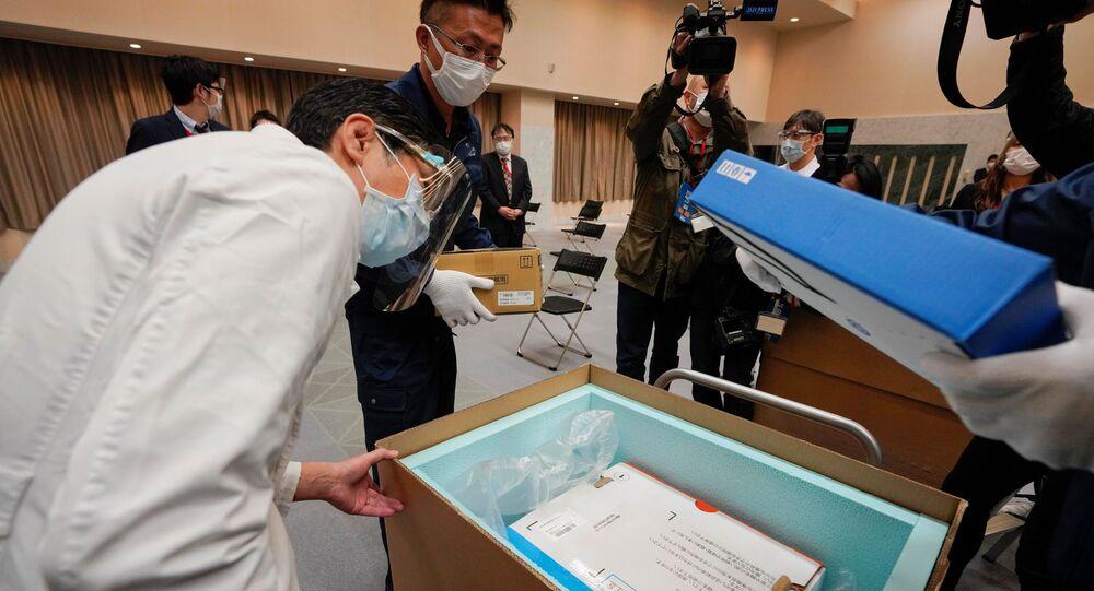 بدء حملة التطعيم واسعة النطاق ضد فيروس كورونا في اليابان، 17 فبراير 2021