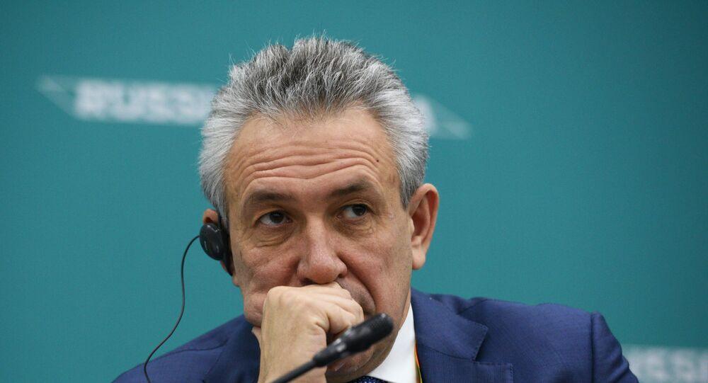 المدير العام لشركة روس جيولوجيا، سيرغي غوركوف