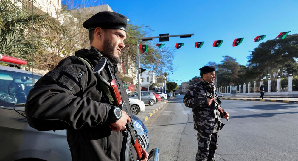 قوات الأمن الليبية