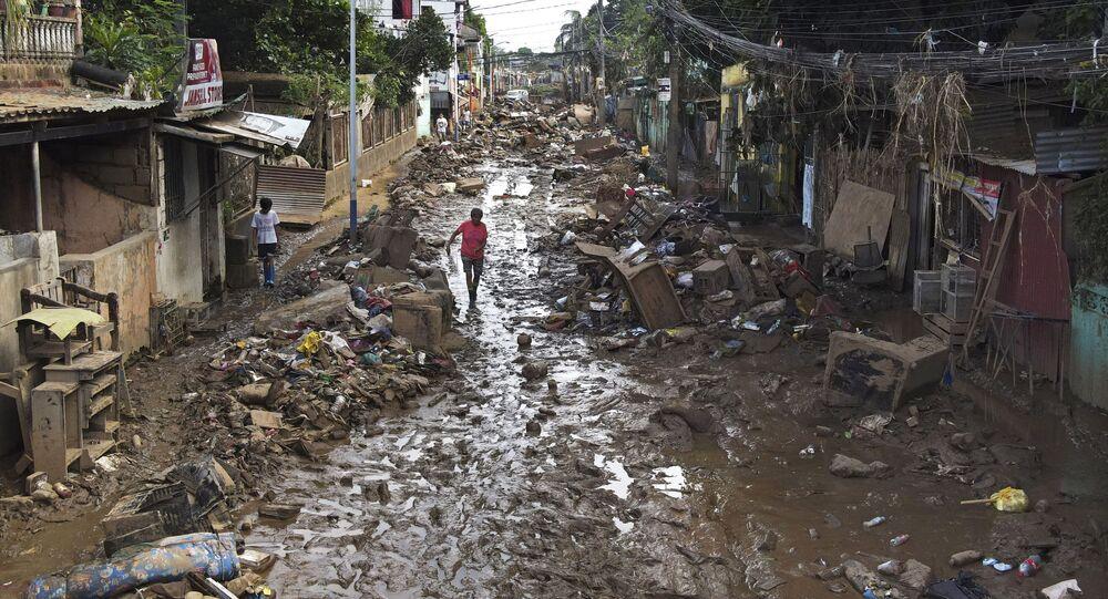العاصفة الاستوائية دوجوان في الفلبين