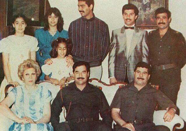 عائلة الرئيس العراقي السابق صدام حسين