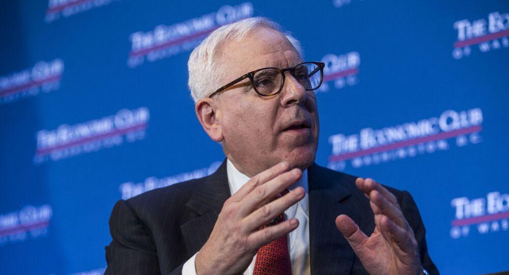 الملياردير الأمريكي ديفيد روبنشتاين المؤسس المشارك لمجموعة كارلايل للاستثمار