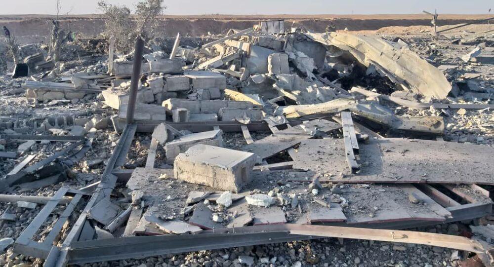سبوتنيك ترصد موقع الغارات الأمريكية على الحدود العراقية السورية، 26 فبراير 2021