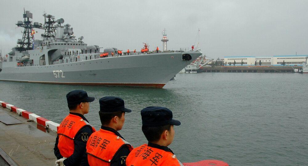 تدريبات عسكرية روسية صينية