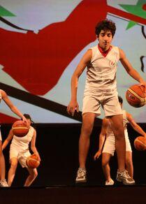 احتفال الرياضيين السوريين بعيدهم الذهبي مع مرور 50 عاماً على تأسيس اتحادهم الرياضي العام، سوريا مارس 2021