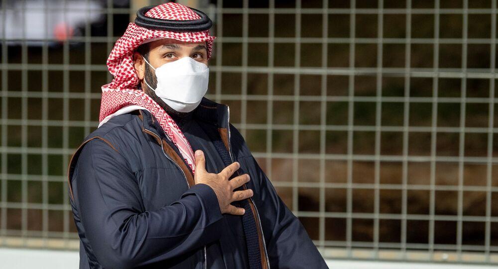 ولي العهد السعودي، الأمير محمد بن سلمان، السعودية، فبراير 2021