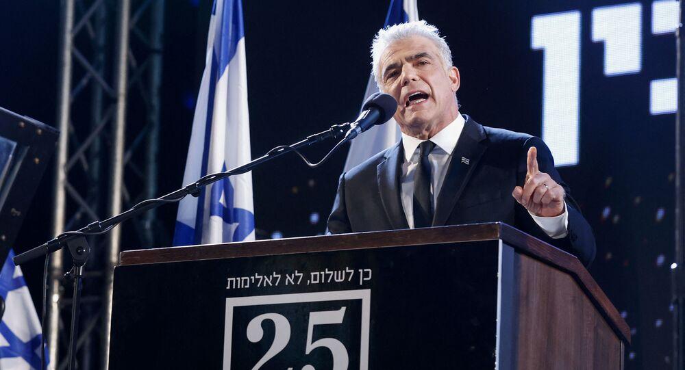 زعيم المعارضة الإسرائيلية يائير لابيد