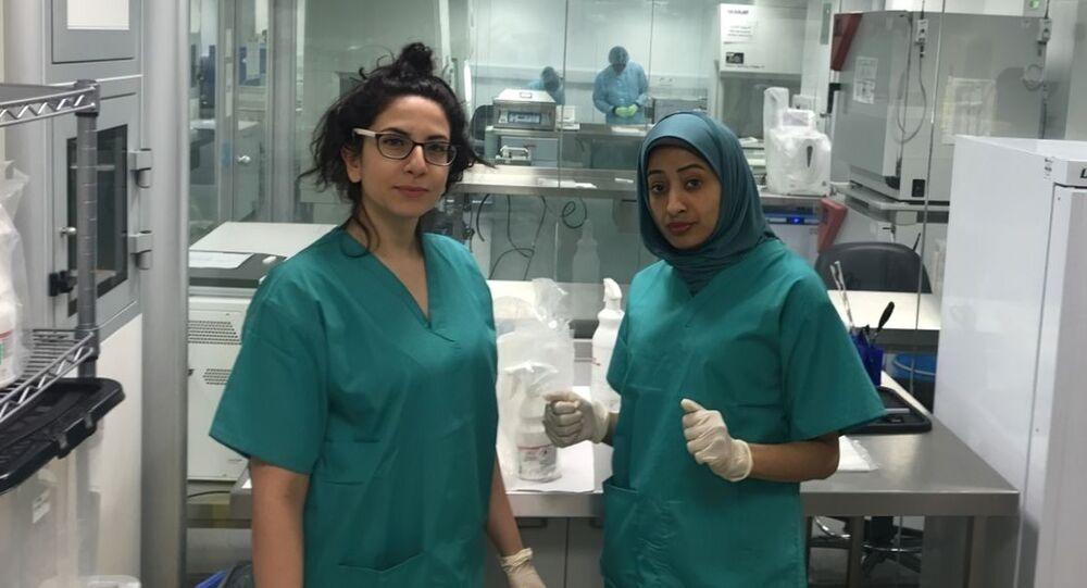 الطبيبة العمانية هند بنت خميس البلوشية