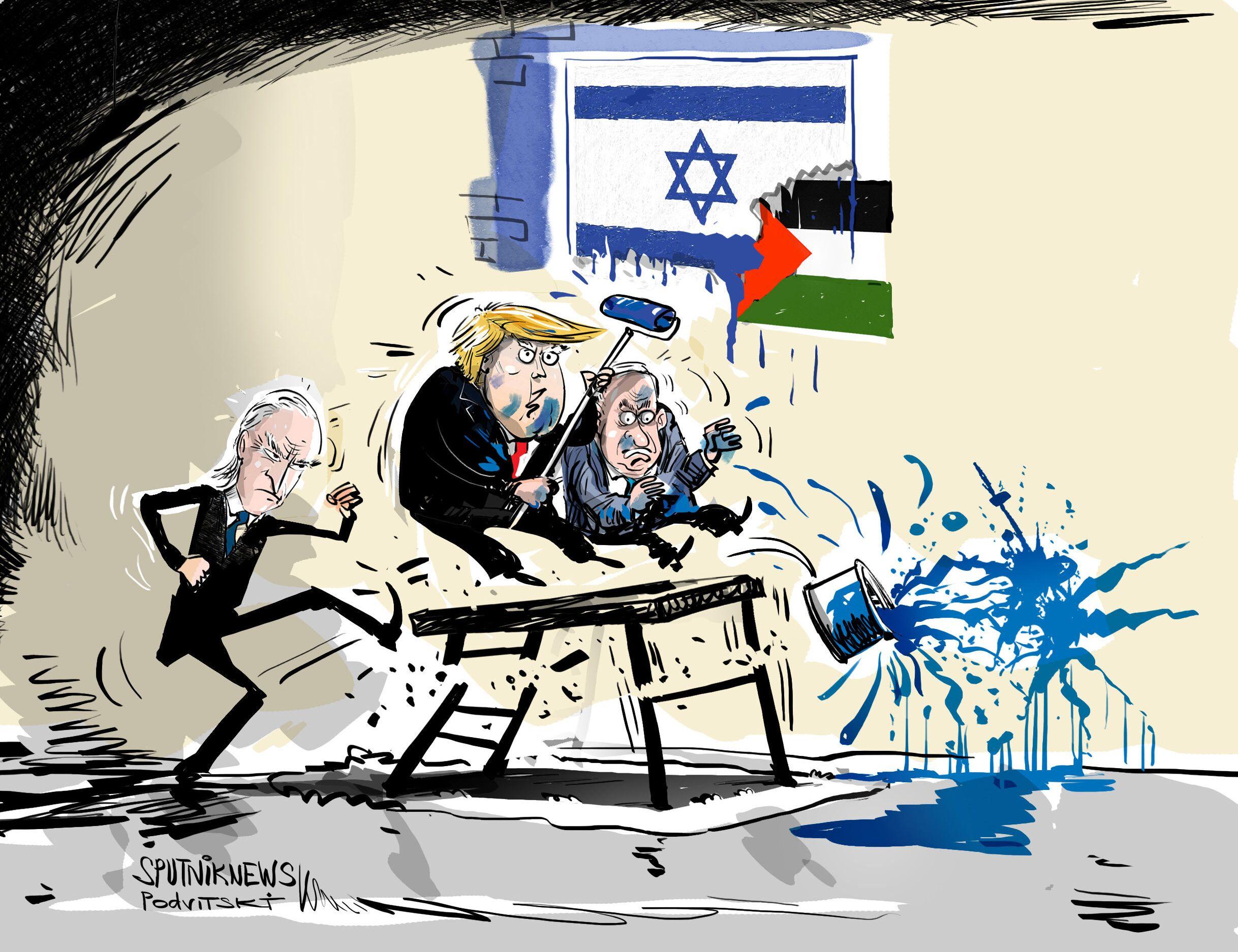 خلافا لترامب.. بايدن يعترف بالاحتلال الاسرائيلي للضفة الغربية