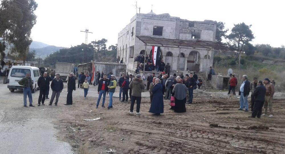 عودة نازحين سورين إلى ريف اللاذقية