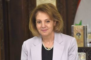 وزيرة الثقافة السورية